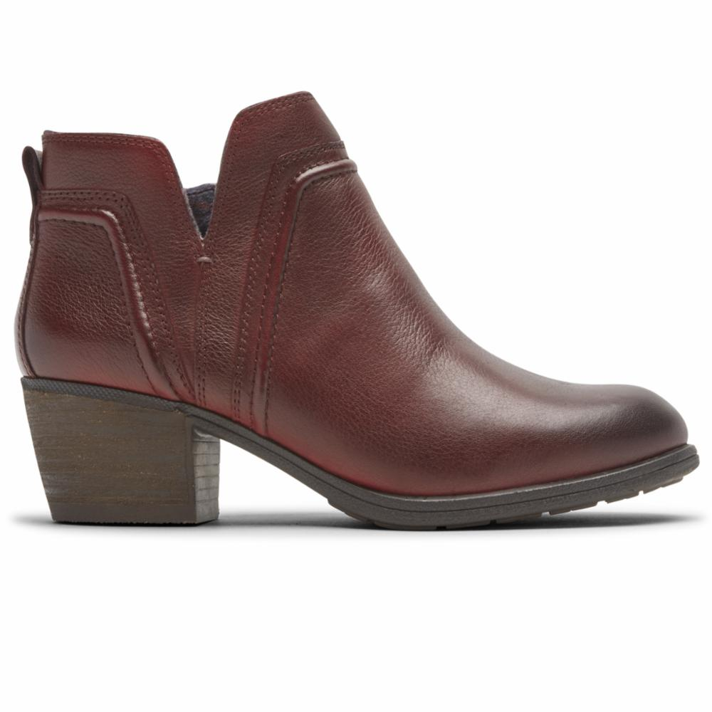 Cobb Hill ANISA VCUT BOOTIE RED