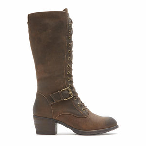 Cobb Hill ANISA TALL LACE BOOT TAN
