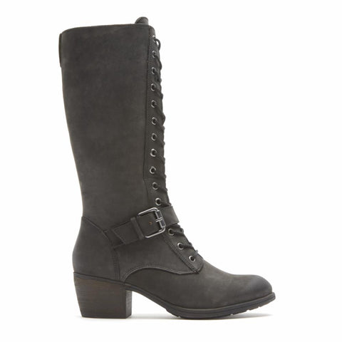 Cobb Hill ANISA TALL LACE BOOT BLACK