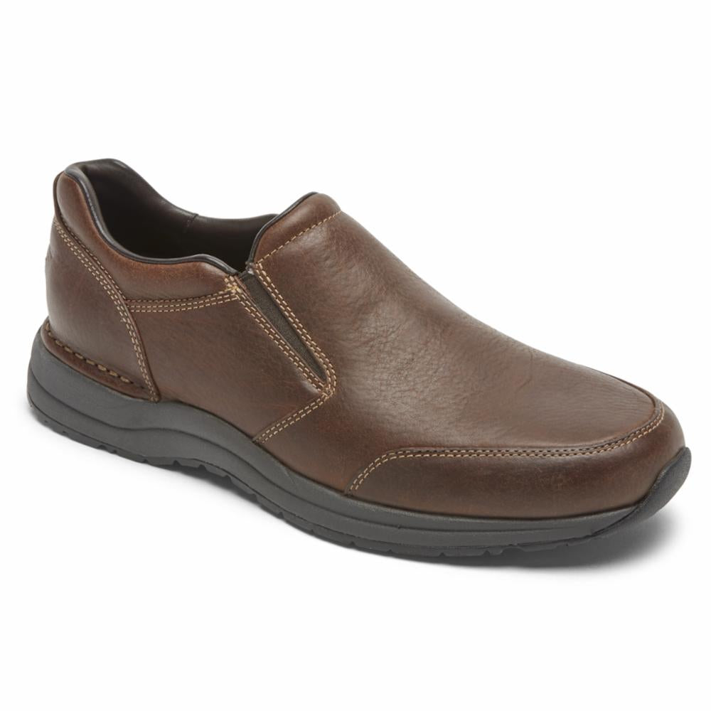 Rockport Men PATH TO CHANGE EDGE HILL II DBLE GORE BROWN