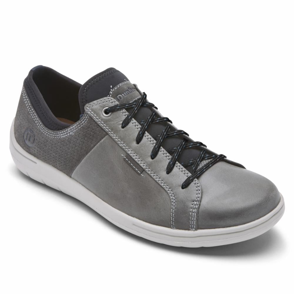 Dunham D FITSMART LACE TO TOE BLUE/GREY