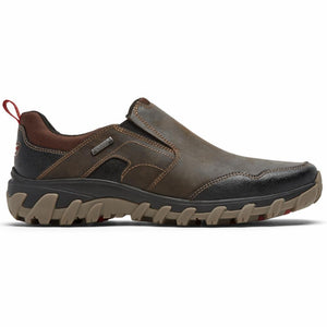 Rockport Men COLD SPRINGS PLUS SLIPON BISON/LEATHER
