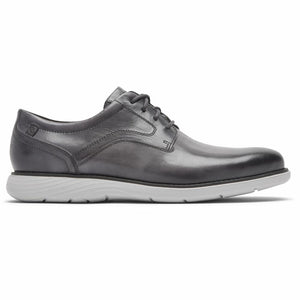 Rockport Men GARETT PLAIN TOE CASTLEROCK GREY/GRADIENT