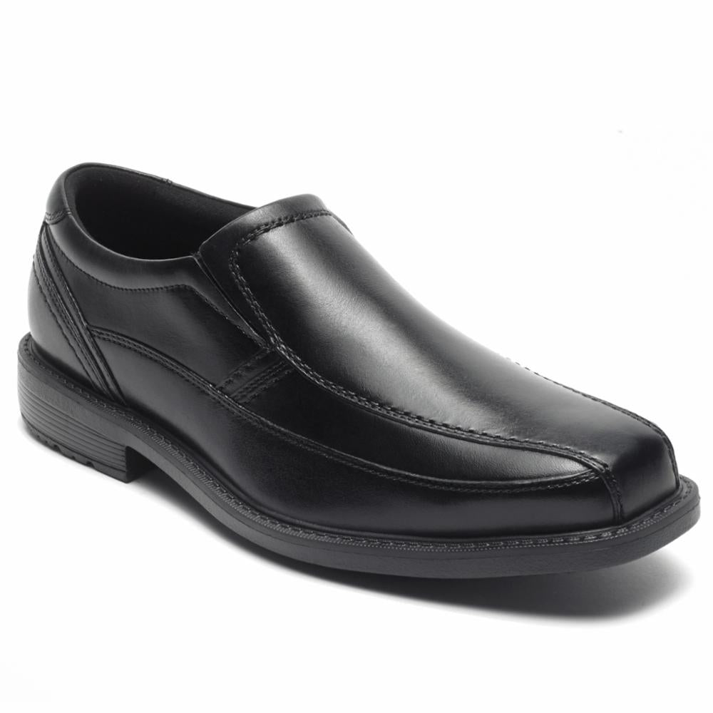 Rockport Men SHERWOOD BIKE SLIPON BLACK