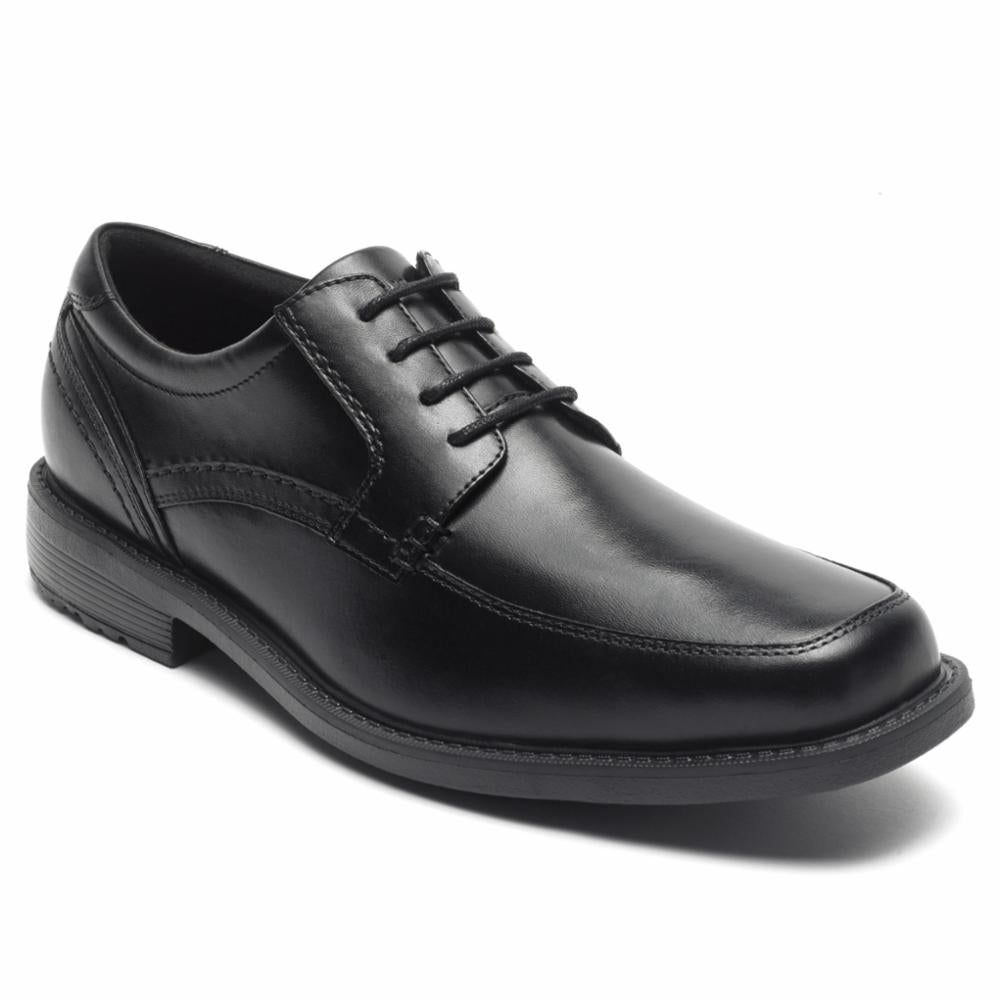 Rockport Men SHERWOOD APRON TOE BLACK