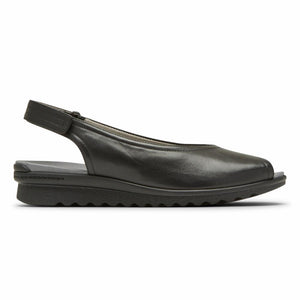 Aravon JOSIE SLINGBACK BLACK SMOOTH