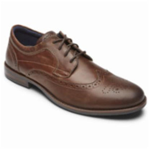 Rockport Men DUSTYN WINGTIP SPICE
