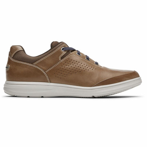 Rockport Men ZADEN UBAL OX BOSTON TAN LEA