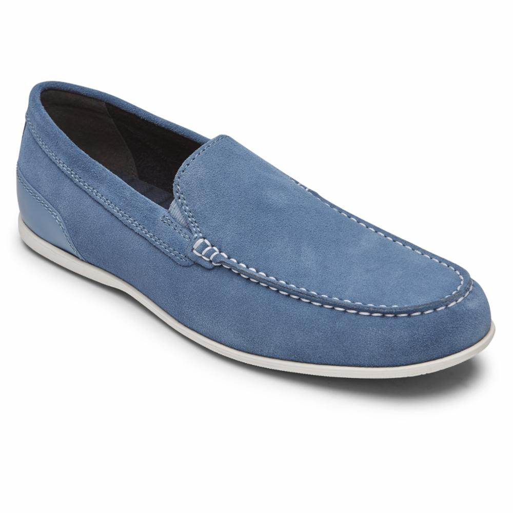 Rockport Men MALCOM VENETIAN BLUE HEAVEN SDE