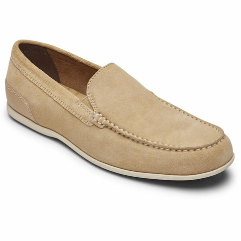 Rockport Men MALCOM VENETIAN TAN SDE