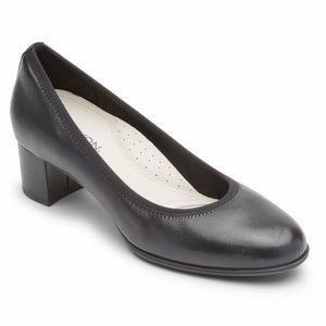 Aravon CAREER DRESS PUMP BLACK LEA