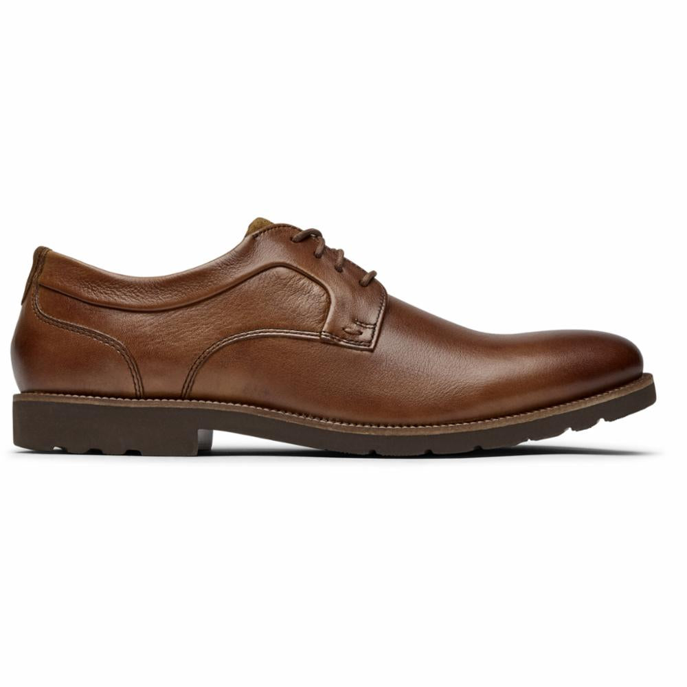 Rockport Men SHARP AND READY 2 PLAIN TOE CARAMEL