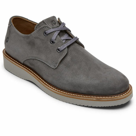 Dunham CLYDE PLAINTOE DARK GREY