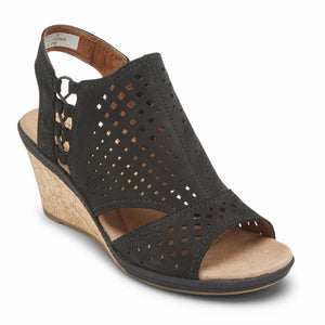 Cobb Hill JANNA SIDE BUNGEE BLACK