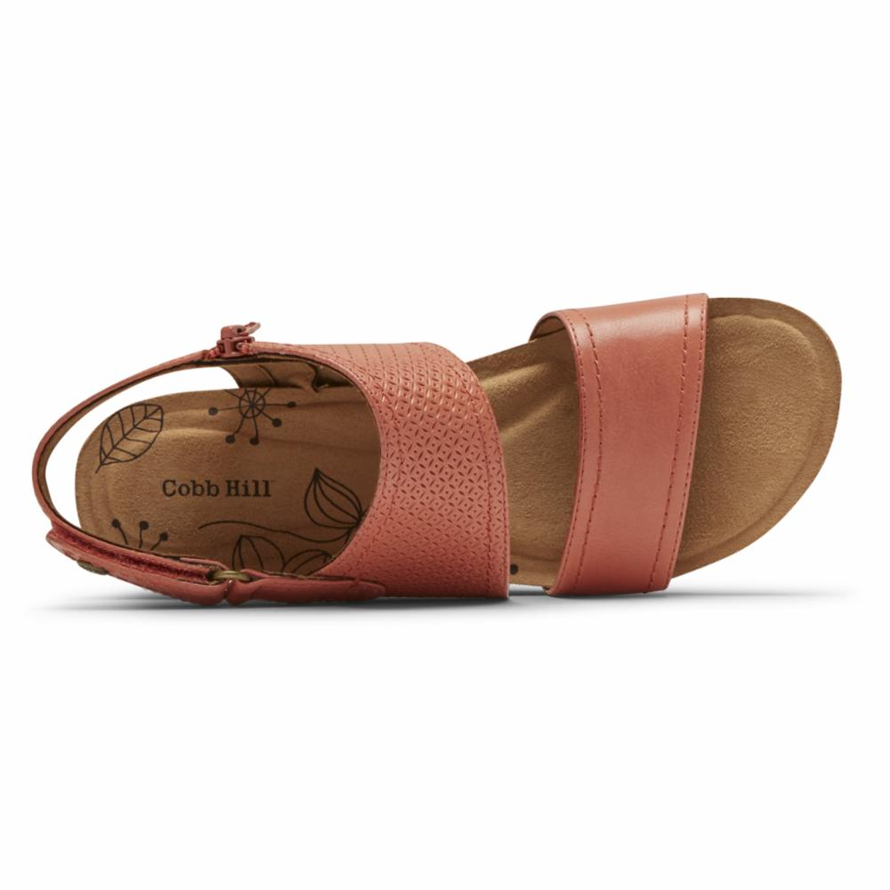 Cobb Hill SHONA SLINGBACK RUSSET RED