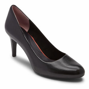 Rockport Women TOTAL MOTION ARABELLA PUMP BLACK LTHR