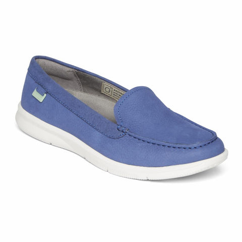 Rockport Women AYVA WASHABLE LOAFER SLIP ON BOLD BLUE