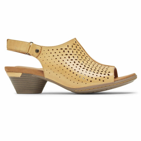 Cobb Hill LAUREL SLINGBACK AMBER YELLOW