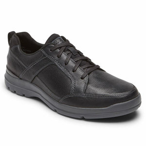 Rockport Men CITY EDGE LACE UP BLACK LEA