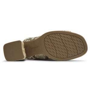 Rockport Women AMARA SLIDE TAN MULTI