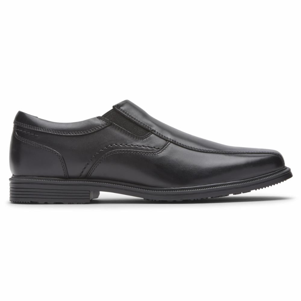 Rockport Men TAYLOR WP SLIPON BLACK