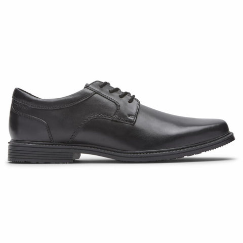 Rockport Men TAYLOR WP PLAIN TOE BLACK