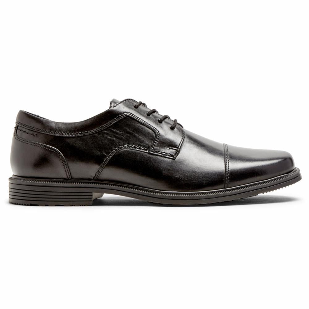 Rockport Men TAYLOR WP CAP TOE BLACK