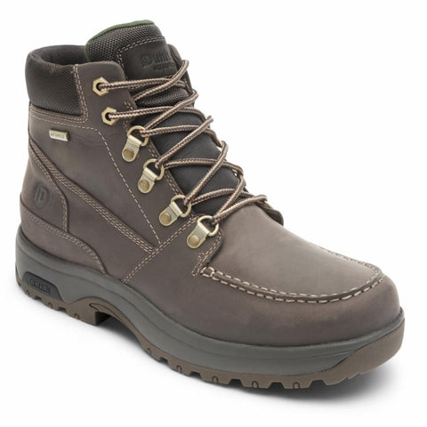 Dunham 8000 WORKS MOC BOOT BROWN LEA