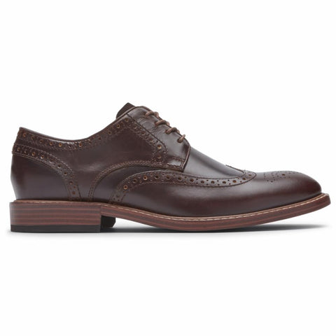 Rockport Men KENTON WINGTIP GINGERBREAD