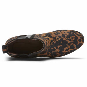 Rockport Women LARKYN CHELSEA LEOPARD HAIR ON