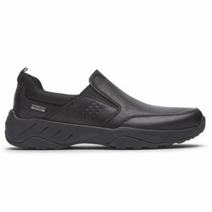Rockport Men XCS SPRUCE PEAK SPRUCE PEAK SLIPON BLACK LEATHER