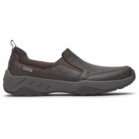Rockport Men XCS SPRUCE PEAK SPRUCE PEAK SLIPON DK CHOCOLATE LEATHER