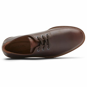 Dunham CLYDE PLAINTOE SADDLE BROWN LEA