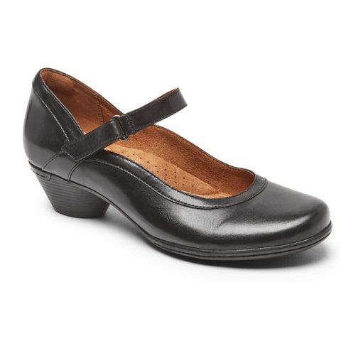 Cobb Hill LAUREL MARY JANE BLACK LEATHER