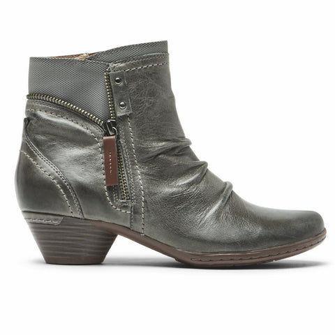 Cobb Hill LAUREL BOOTIE GREY LEATHER