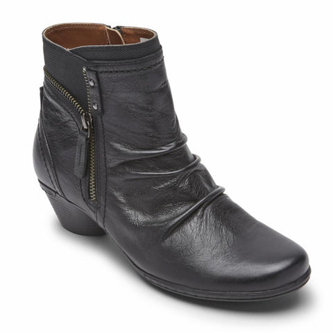 Cobb Hill LAUREL BOOTIE BLACK LEATHER
