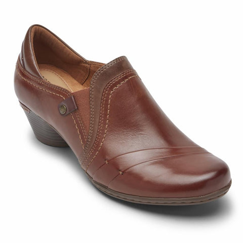 Cobb Hill LAUREL SLIP-ON TAN LEATHER