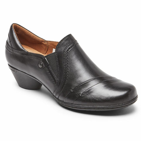 Cobb Hill LAUREL SLIP-ON BLACK LEATHER