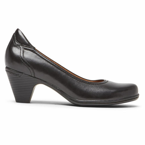 Cobb Hill ADALINE PUMP BLACK LEATHER
