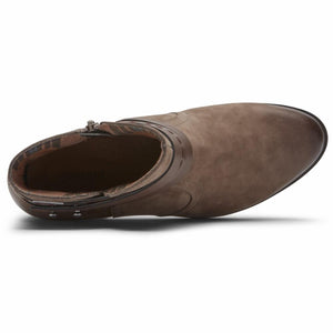 Cobb Hill OLIANA WP BOOT STONE NUBUCK WP