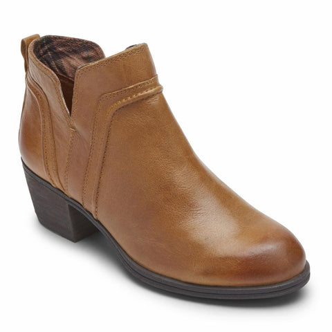 Cobb Hill ANISA VCUT BOOTIE YELLOW AMBER LEATHER