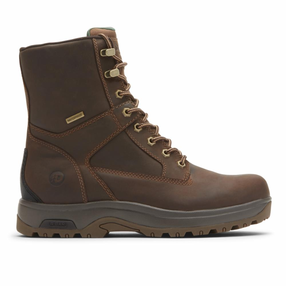 Dunham 8000 WORKS 8INPT BOOT BROWN LEA
