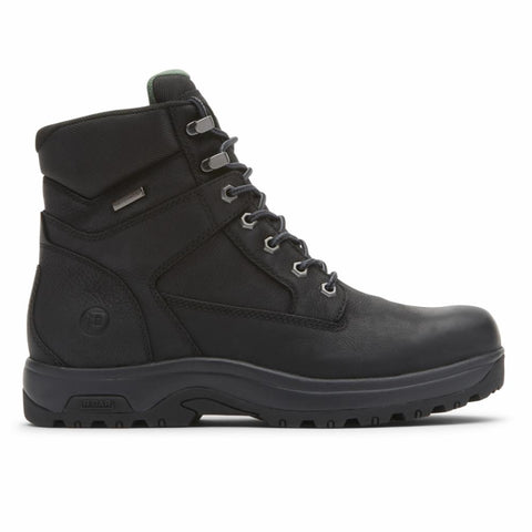 Dunham 8000 WORKS 6INPT BOOT BLACK LEA