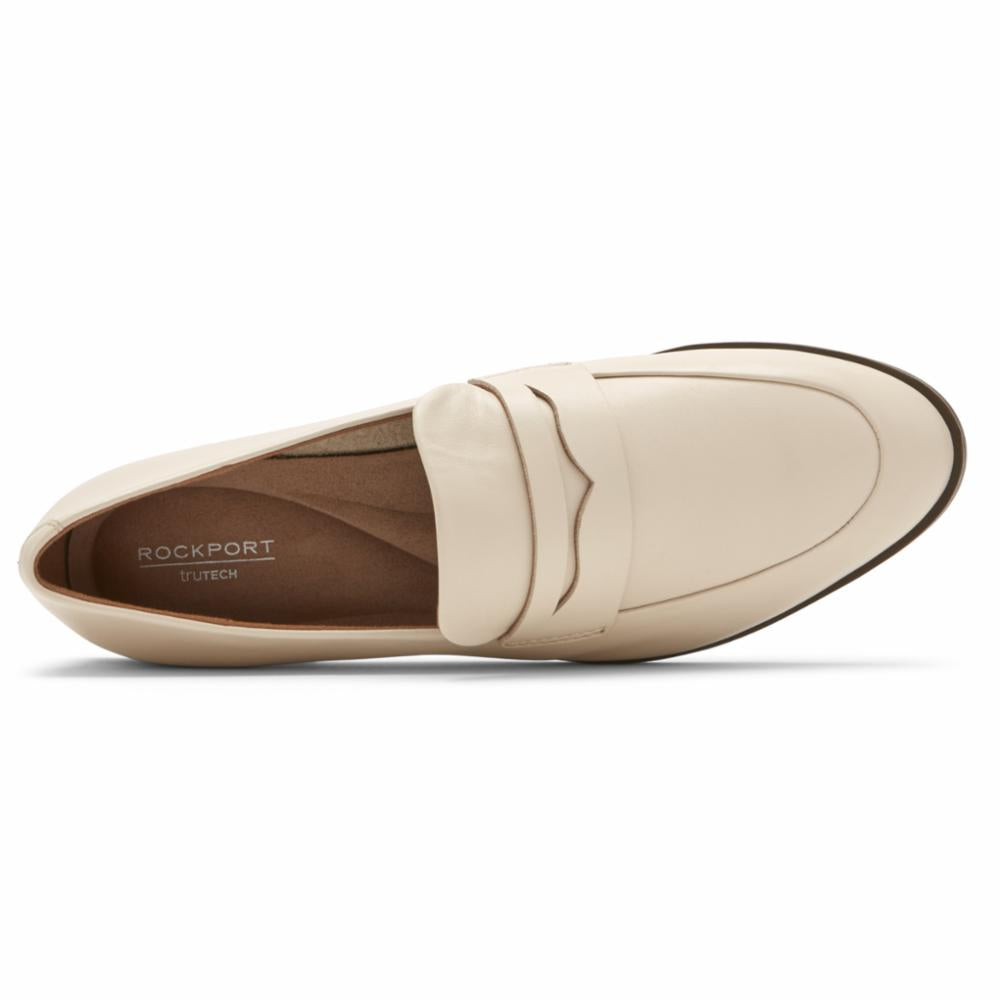 Rockport Women PERPETUA DEC LOAFER VANILLA