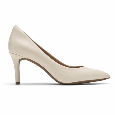 Rockport Women TOTAL MOTION 75mmPTH PLAIN PUMP VANILLA