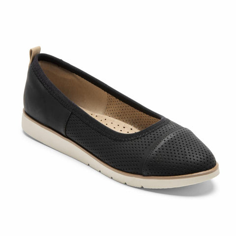 Rockport Women STACIE STACIE BALLET BLACK