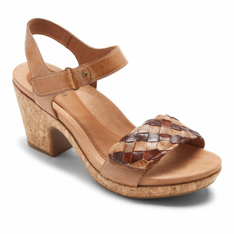 Cobb Hill ALLEAH ADJUSTABLE STRAP TAN