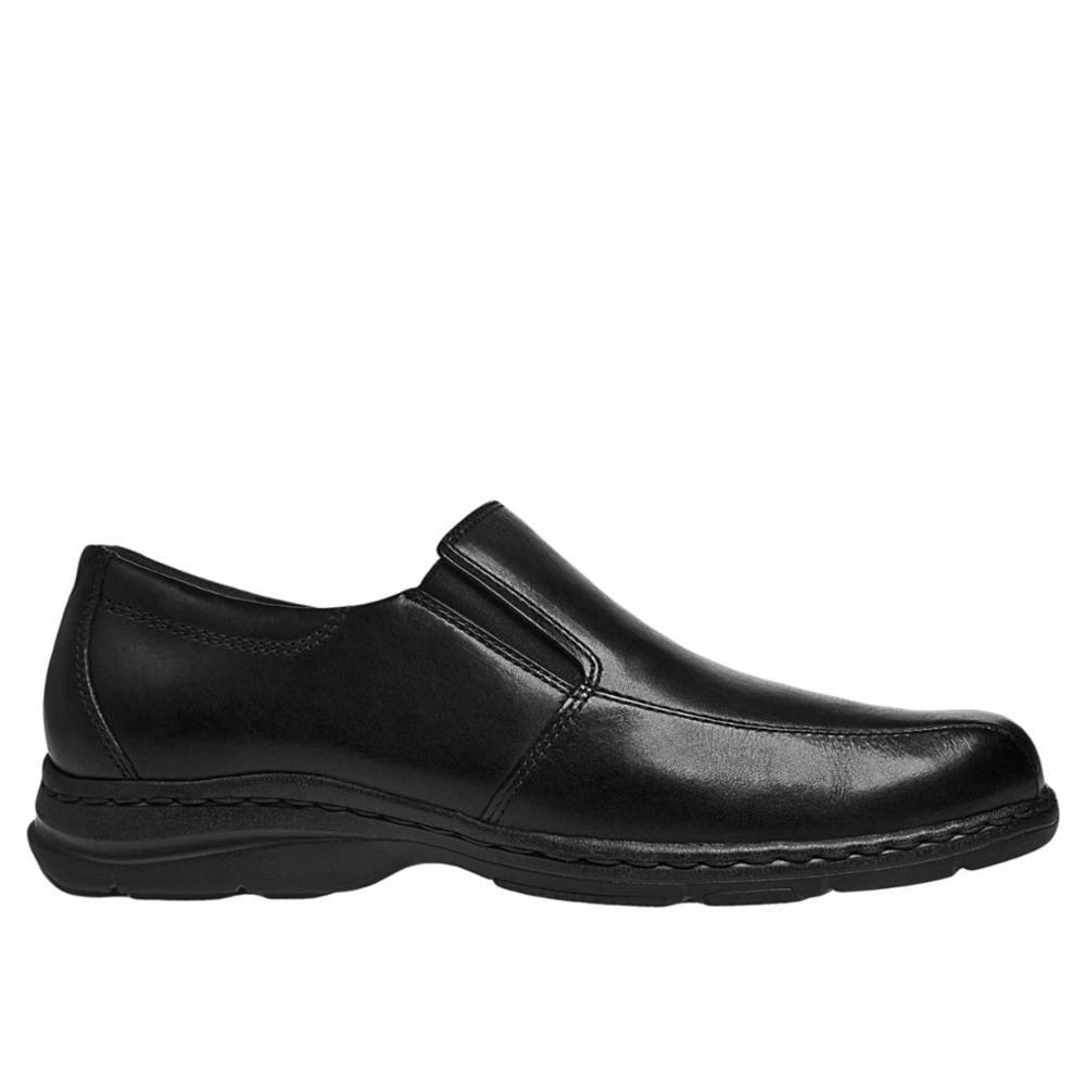 Dunham BENNINGTON BLAIR SLIP ON BLACK