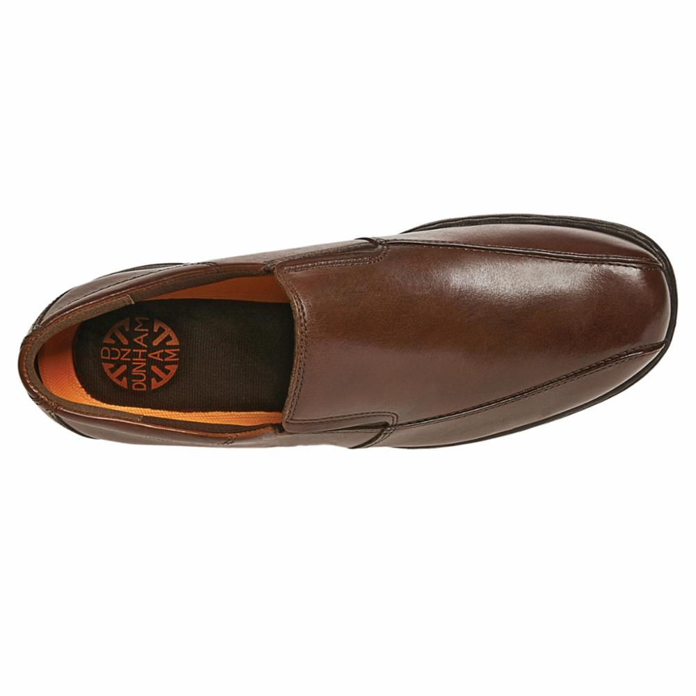 Dunham BENNINGTON BLAIR SLIP ON BROWN