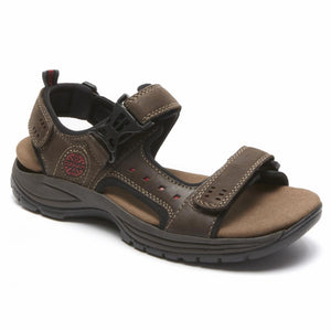 Dunham NEWPORT NOLAN ADJUSTABLE SANDAL BROWN